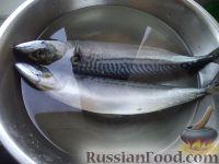 Фото приготовления рецепта: Скумбрия малосольная - шаг №3