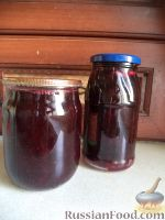 Фото к рецепту: «Пятиминутка» из черной смородины (1)