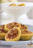 Фото к рецепту: Тарталетки с ореховой начинкой