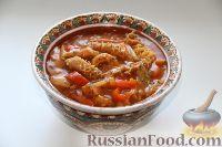 Фото к рецепту: Флячки по-венгерски