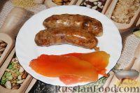 Фото к рецепту: Свиные колбаски с паприкой