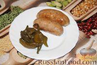 Фото к рецепту: Колбаски из свиной лопатки