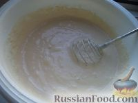 Фото приготовления рецепта: Простой рецепт блинов - шаг №9