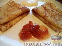 Фото приготовления рецепта: Простой рецепт блинов - шаг №15