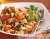 Фото к рецепту: Жареный сыр тофу