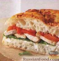 Фото к рецепту: Бутерброды с курицей
