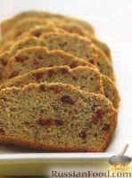 Фото к рецепту: Льняной хлеб с клюквой и цуккини