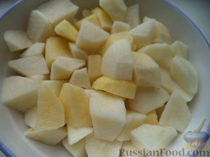 как приготовить картофельный суп рецепт с фото