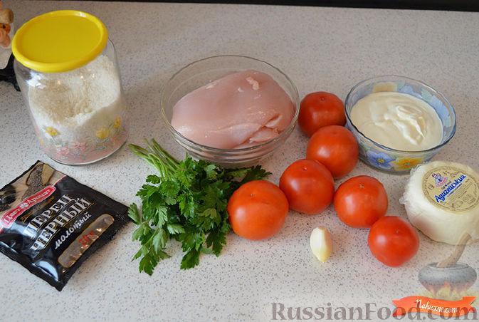 рецепт курочки в духовке с сыром
