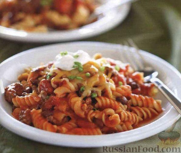 макароны запеченные в духовке фото рецепт