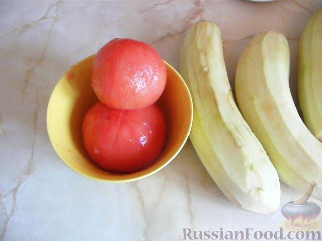 Фото приготовления рецепта: Суп с баклажанами - шаг №2
