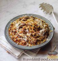 Фото к рецепту: Паста с мясным соусом