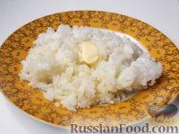 Фото к рецепту: Каша рисовая рассыпчатая на воде