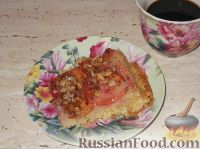 Фото к рецепту: Нежный пирог со сливами