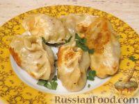 Фото к рецепту: Жареные пельмени