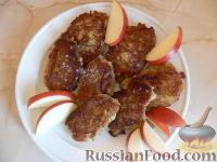 Фото к рецепту: Оладьи из яблок
