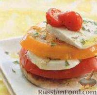 Фото к рецепту: Вегетарианский бутерброд с сыром и помидорами