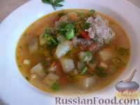 Фото к рецепту: Суп с баклажанами