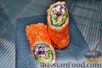 Фото к рецепту: Суши бурито