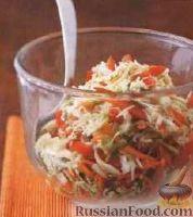 Фото к рецепту: Простой овощной салат