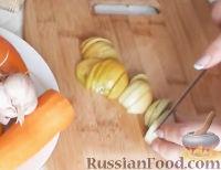 Фото приготовления рецепта: Салат из зеленых помидоров - шаг №1