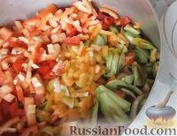 Фото приготовления рецепта: Салат из зеленых помидоров - шаг №2