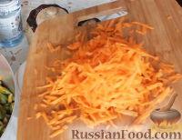 Фото приготовления рецепта: Салат из зеленых помидоров - шаг №3