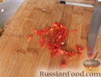 Фото приготовления рецепта: Салат из зеленых помидоров - шаг №5