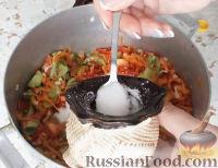Фото приготовления рецепта: Салат из зеленых помидоров - шаг №9