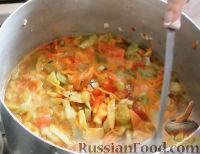 Фото приготовления рецепта: Салат из зеленых помидоров - шаг №11