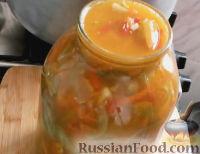 Фото приготовления рецепта: Салат из зеленых помидоров - шаг №12