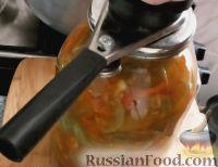 Фото приготовления рецепта: Салат из зеленых помидоров - шаг №13