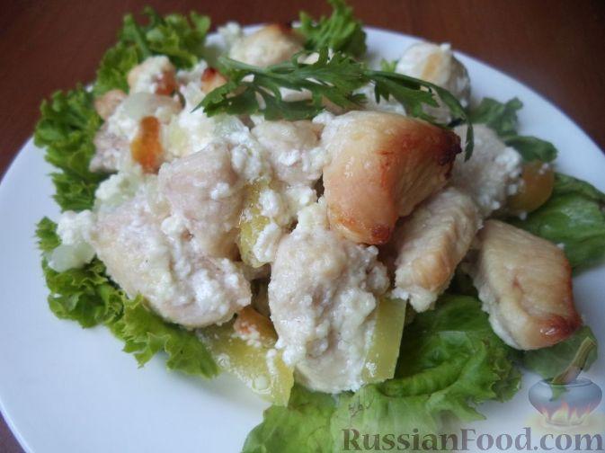 куриная грудка в сметанном соусе на сковороде рецепт пошагово с фото
