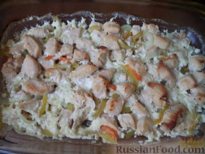 рецепт приготовления грудки в сливочном соусе