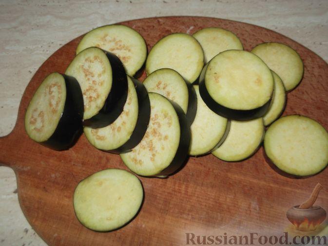рецепт приготовления баклажанов с помидорами и чесноком на зиму