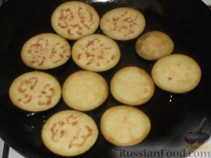 Рецепт: Баклажаны с чесноком - все рецепты России
