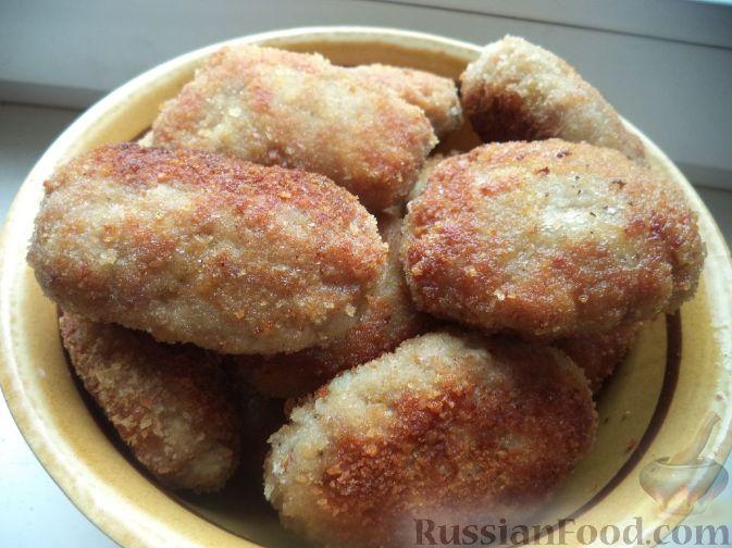 куриные котлеты в панировочных сухарях рецепт с фото