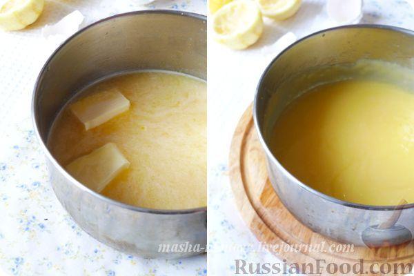 Фото приготовления рецепта: Тарталетки с лимонным курдом и голубикой - шаг №1