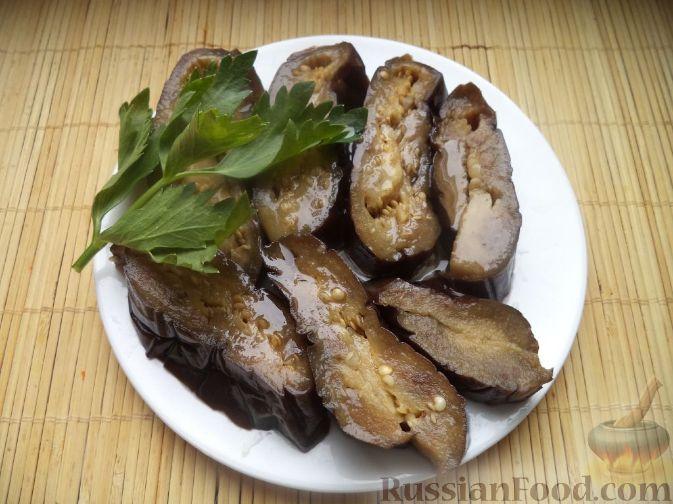 маринованные целые баклажаны на зиму рецепты с фото