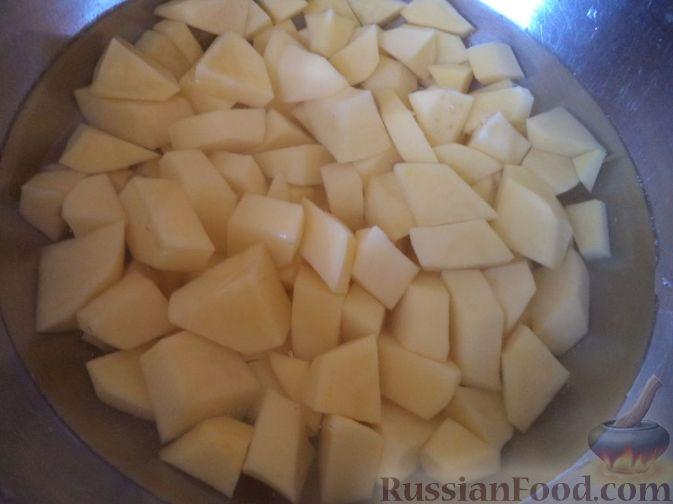 Фото приготовления рецепта: Постный суп-гуляш - шаг №1