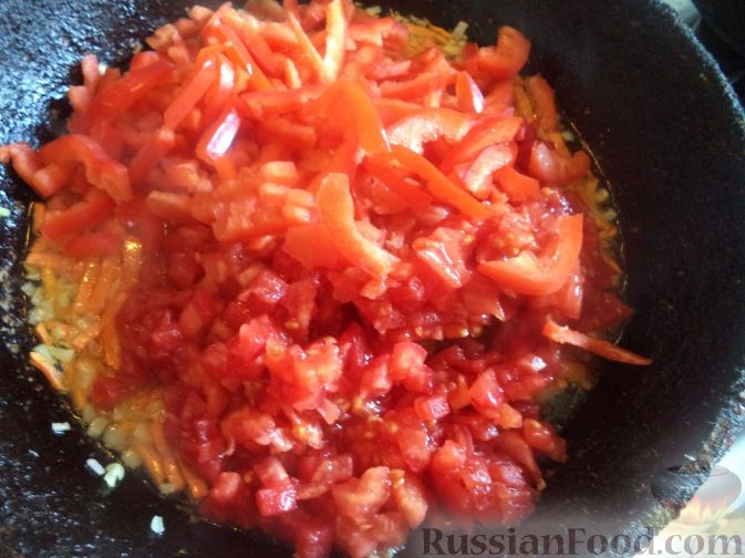 Фото приготовления рецепта: Постный суп-гуляш - шаг №7