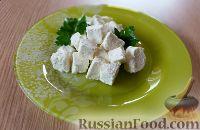 """Фото к рецепту: Домашний сыр """"Фета"""""""