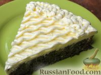 Фото к рецепту: Масляный крем с лимоном и сгущенным молоком