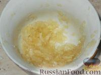 Фото приготовления рецепта: Жареные баклажаны с чесноком - шаг №5
