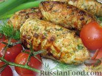 Фото к рецепту: Котлеты из курицы