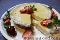 Фото к рецепту: Чизкейк с домашним сливочным сыром