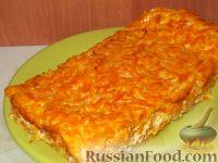 Фото к рецепту: Морковная запеканка «Солнечная»