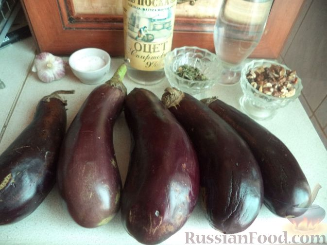 рецепт приготовления баклажанов по грузински