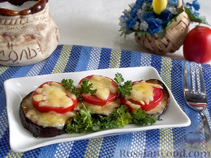 Салат из баклажанов запеченные сыром праздничный стол