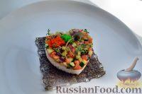 Фото к рецепту: Тартар из лосося